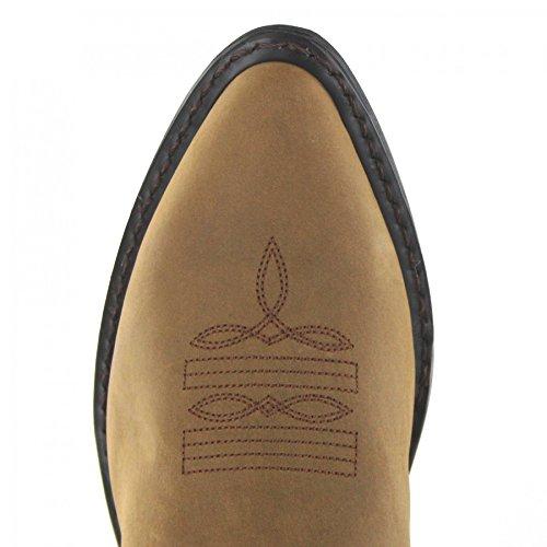 FB Fashion Boots Durango Boots Classic RD4112 Tan/Damen Westernstiefel Braun/Cowboystiefel/Damenstiefel Wild Tan