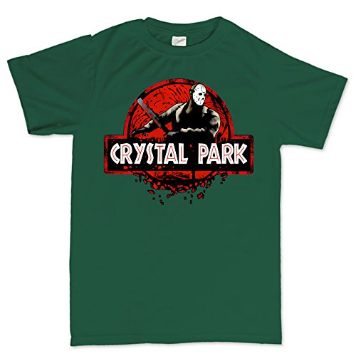 JurassicT ShirtFGR5XL XXXXXL Forest Green (Halloween Forest Park)
