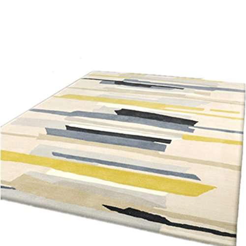 Alfombra Alfombra Alfombra Alfombra Alfombra IKEA Styled Geometric Pattern Alfombra Sala de estar Sofá moderno Europeo Mesa de centro Alfombra de dormitorio ( Color : COLOR 2 , Size : 160*230CM )