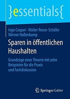 Sparen in öffentlichen Haushalten: Grundzüge einer Theorie mit zehn Beispielen für die Praxis und Fachdiskussion (essentials)