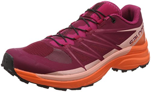 Wings Pro 3 W - Chaussures trail femme Beet Red / Nasturtium / Coral Almond
