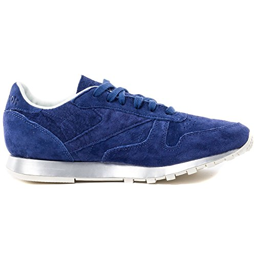 Reebok Classic Leather New Metal Damen Trainers Blau