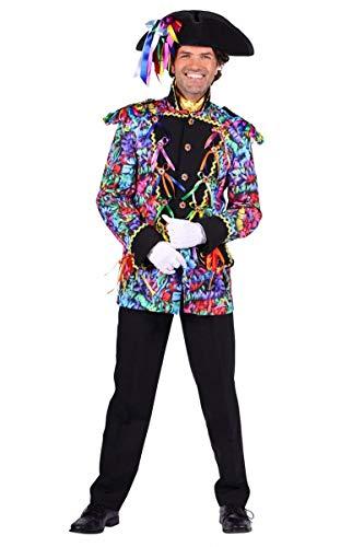 Luftschlangen-Jacke in bunt | Garde-Uniform | Luftschlangen-Jackett (M) -