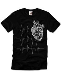 TEE-Shirt, Homme T-Shirt cœur