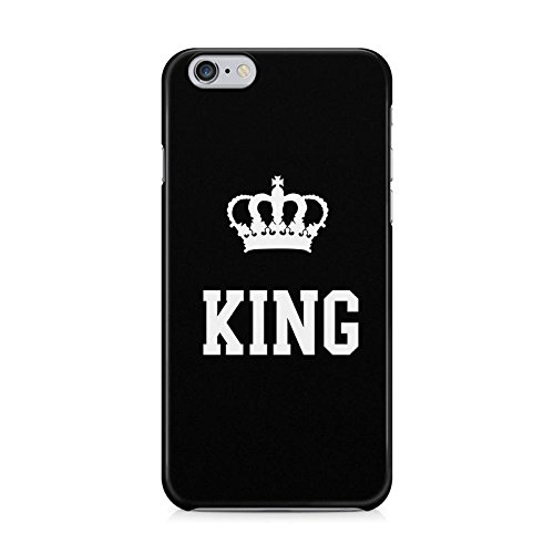 King Crown Matching Couple King And Queen Gift For Boyfreind And Girlfriend Schutzhülle aus Hartplastik Handy Hülle für iPhone 6 / iPhone 6s Case Hard Cover