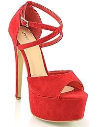 Amazon.it  13 cm e più - Scarpe col tacco   Scarpe da donna  Scarpe ... 58c43c3a71c