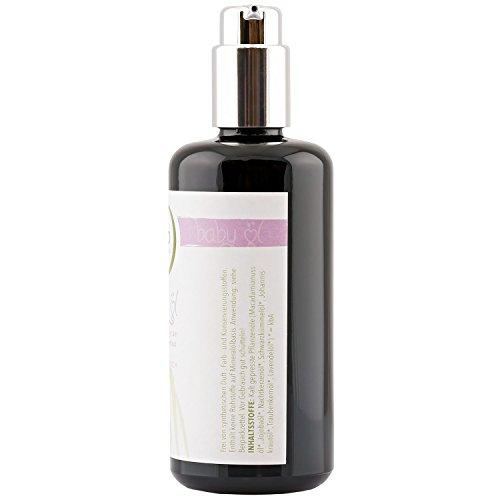 BIO Babyöl Oil BIOMOND TESTSIEGER, 200 ml, Glasspender / ohne Zusatzstoffe / 100% BIO / Naturkosmetik / entspannt und pflegt / von Hebammen empfohlen - 2