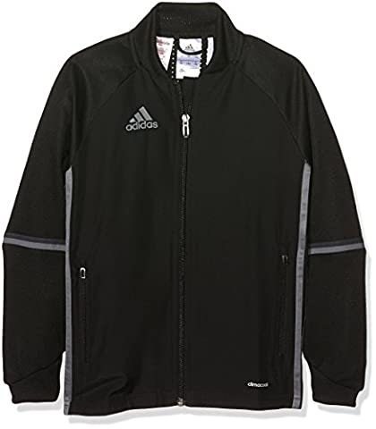 adidas Kinder Trainingsjacke Condivo 16, Black/Dark Grey/Vista Grey, 164, AN9829
