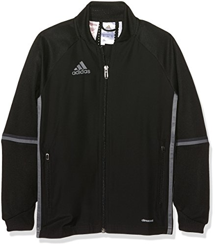 Adidas Kids Con16 Trg Y Jacket BlackNegroGrivis, Size 140