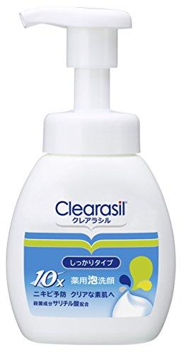 clearasil-medical-bubble-face-wash-foam-10-200ml-japan-import