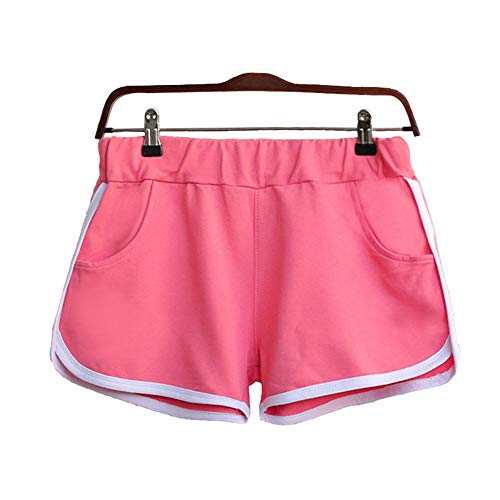 JUTOO Neue Sommer Hosen Casual Frauen Sport Shorts Gym Workout Taille dünne Yoga kurz ()