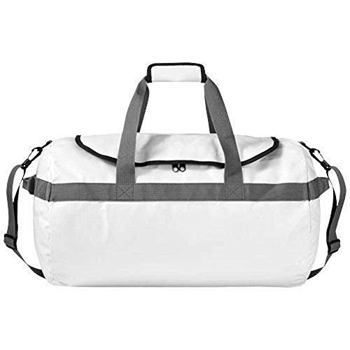 white-waterproof-duffel-drybag-travel-luggage-bag