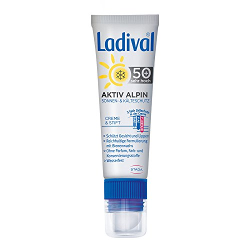 Ladival Aktiv Alpin Sonnen- und K�lteschutz Kombi LSF 50+, 1