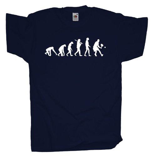 Ma2ca - Evolution - Tennisspieler T-Shirt Navy