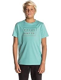 Rip Curl Children's Undertow Logo Gradian Short Sleeve T-Shirt
