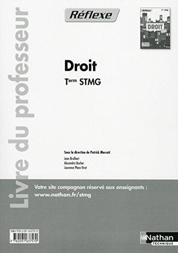 Droit - Tle STMG par (Broché)