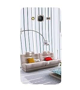 PrintVisa Lovely House 3D Hard Polycarbonate Designer Back Case Cover for Samsung Galaxy On5 (2015)