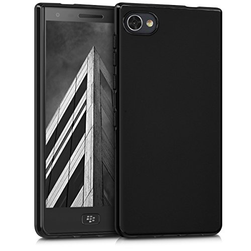 kwmobile Hülle für Blackberry Motion - TPU Silikon Backcover Case Handy Schutzhülle - Cover Schwarz matt