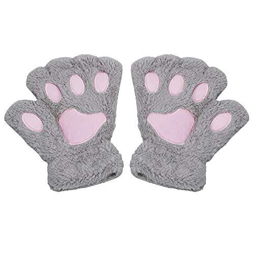 Aofocy Gato garra guantes dibujos animados lindo engrosamiento