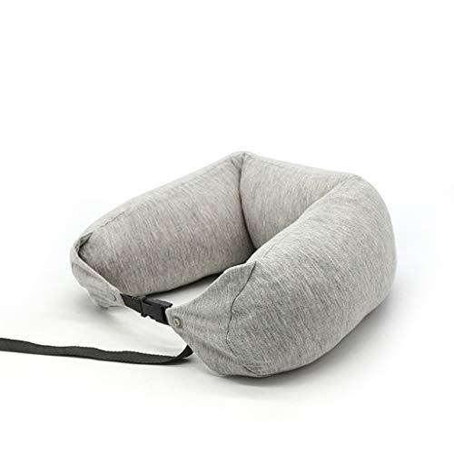 CZZ Reisekissen-Gedächtnis-Schaum-Hals und Kopf-Unterstützung, am besten für seitliche Magen-und Rückenschläfer, für Busse Züge Office Nickerchen Camping -