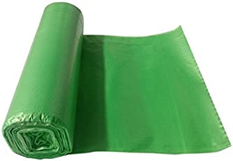 """Eco Clean Medium Garbage Bags 19"""" x 21""""-inches, 90 Bags Roll (Green)"""