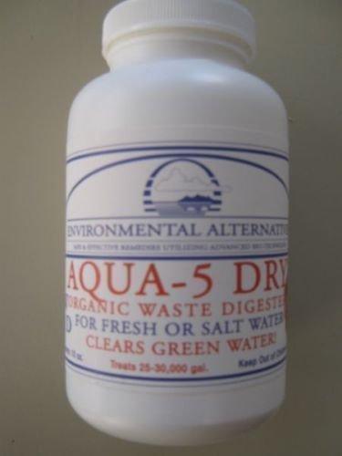 Aqua 5 Dry rein biologischer Wasserklärer für 75.000l -