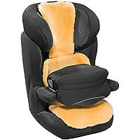 CHRIST Lammfell Buggy- und Autositzauflage – Kindersitzunterlage, Lammfelleinlage aus echtem medizinischem Fell, für Kinder und Babys, längenverstellbar, Größen: Kindersitze der Gruppe 0-1 und 2-3