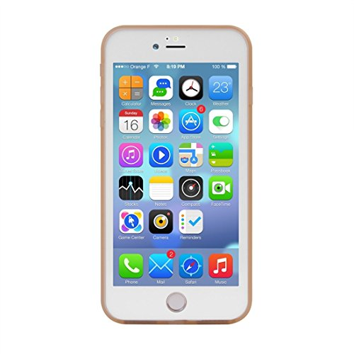 Für iPhone 7 Plus Tridimensionales Diamant-Muster-Leben-wasserdichte TPU + PC schützende Fall-Abdeckung by diebelleu ( Color : Green ) Gold