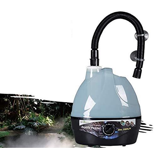 TUDIO Reptiles y Anfibios Higrostatos-2 L Tanque Anfibios Reptil Fogger humidificador vaporizador Niebla Maker generador