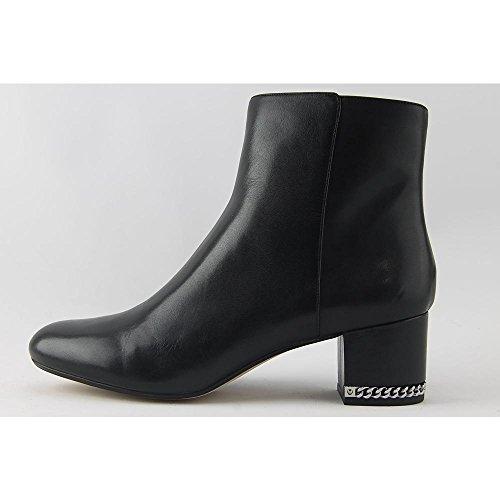 Michael Michael Kors Frauen Sabrina Mid Bootie Geschlossener Zeh Leder Fashion Stiefel Schwarz Groesse 6.5 US /37.5 EU - Kors Boots Michael