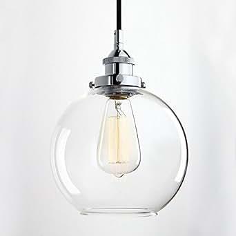 glighone h ngelampe industrial glas h ngeleuchte retro rund industrial pendelleuchte vintage. Black Bedroom Furniture Sets. Home Design Ideas