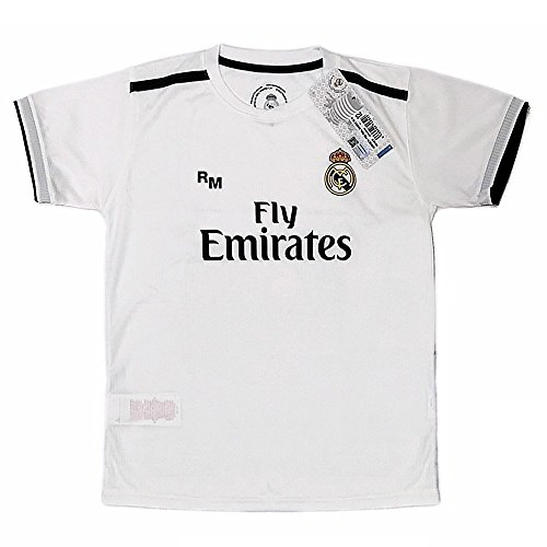 f64d30756f9c9 Real Madrid FC Camiseta Infantil Réplica Oficial Primera Equipación 2018  2019 (14 Años)