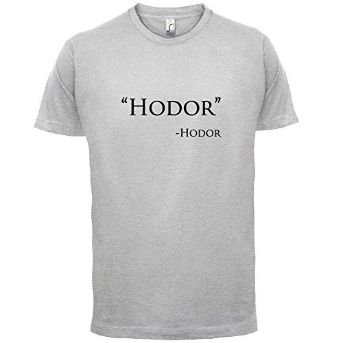 Hodor Quote - Herren T-Shirt - 13 Farben Hellgrau