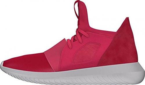 Adidas Sneaker Tubulares Senhoras Desafiante Rosa / Branco