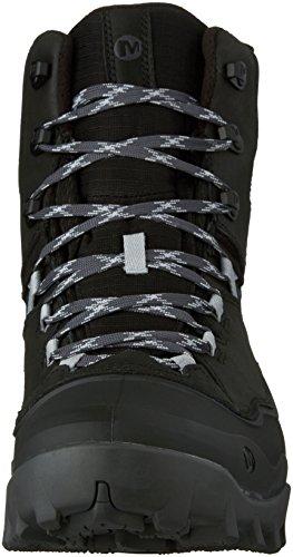Merrell Fraxion Shell 8 Wtpf, Chaussures de Randonnée Hautes homme Noir (Black)