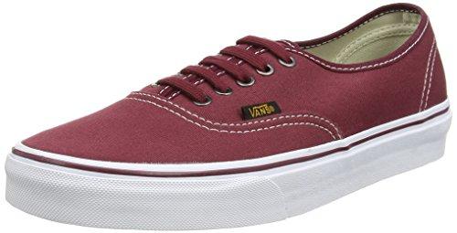 Vans Authentic, Unisex-Erwachsene Sneakers Rot (surplus/port Royale/port)