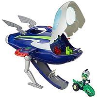 PJ Masks - Aventuras En La Luna Nave Espacial Y Moto Rover con Gekko, (95120)