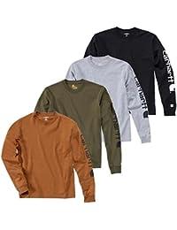 Carhartt Longsleeve Logo langarm Shirt 100% BW EK231
