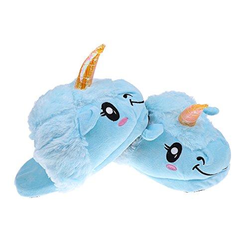 Donna Unicorno Uomo Della Riscaldamento Pistone Magideal Blu 6wq7tEnn