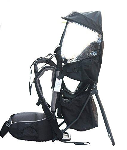 Porte bébé Support Dorsal Transporteur pour l'enfant pour les randonnées et l'excursion Vert par Pawsfiesta