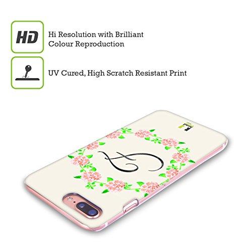 Head Case Designs J Plumerias Corona Di Fiori Cover Retro Rigida per Apple iPhone X F Ortensia