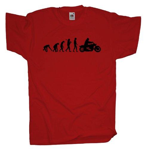 Ma2ca - Evolution - Biker T-Shirt Red