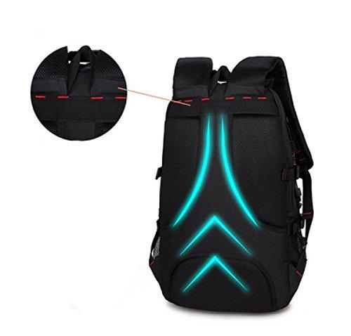 LAIDAYE Schüttgutsack Bergsteigen Taschen Outdoor-Taschen Taschen Rucksäcke Umhängetaschen 1