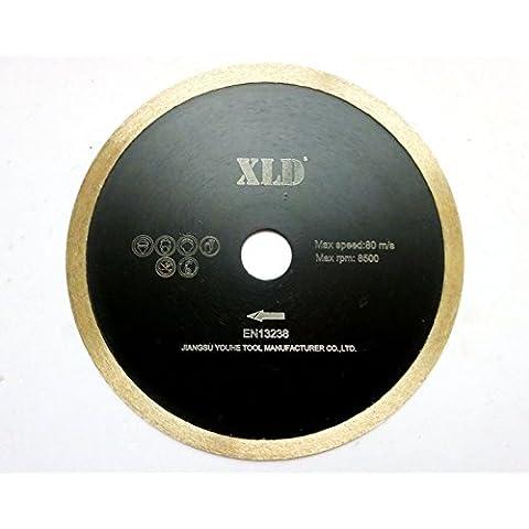 XLD BLADE Presionado fría XLD borde continuo de hoja de sierra, perfecta para cortar la baldosa cerámica, granito, mármol, etc., Grado A, de 7 pulgadas By XLDTOOL ( Size : 180*2.2*5*22.23mm )