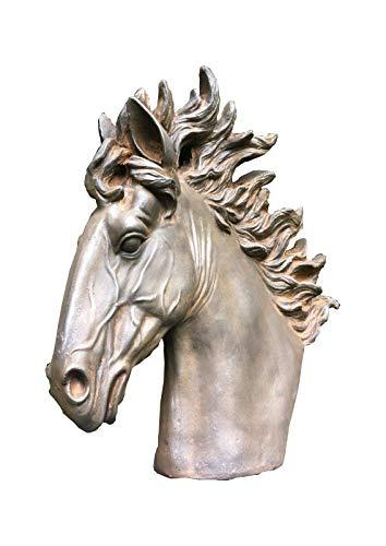 ABitQuackers - Figura Decorativa de Busto rústico (55 x 19 x 55 cm)