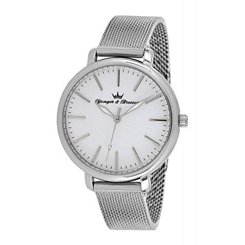 Reloj Yonger & Bresson Mujer Blanco–DMC 050/BM–Idea regalo Noel–en Promo