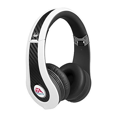 Monster Game MVP Carbon On-Ear Headphones (White,
