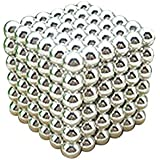 Jspoir Melodiz Cubo Magico de neodimio, bolas magneticas, Puzzle de bolas 5 mm de 216, 15 colores a elegir