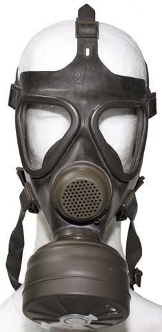 BW Schutzmaske, oliv, Filter, neu, (VERKAUF NUR IN EU)