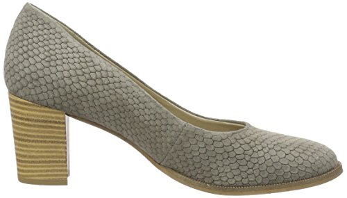 Tamaris Damen 22439 Pumps Grau (GREY STRUCTURE 228)